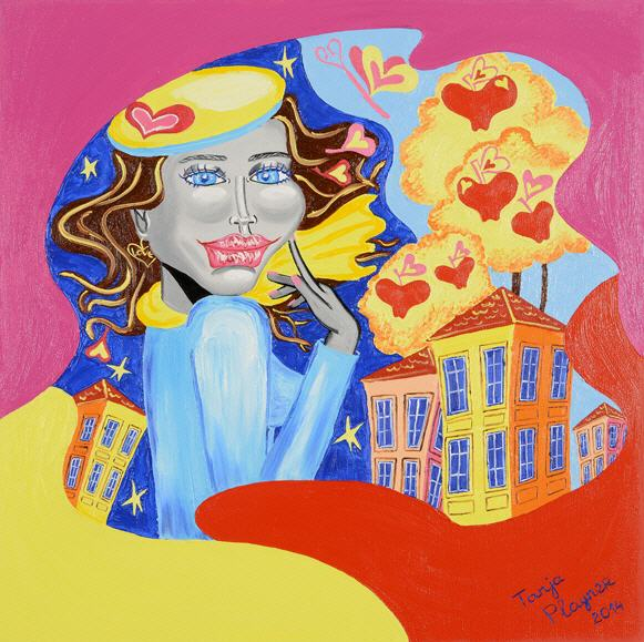 Art and famous artists - worldwide famous Pop Art artist